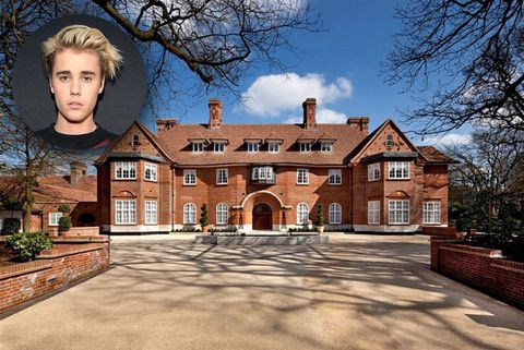 Peek Inside The Mansion Justin Bieber's Renting In North London