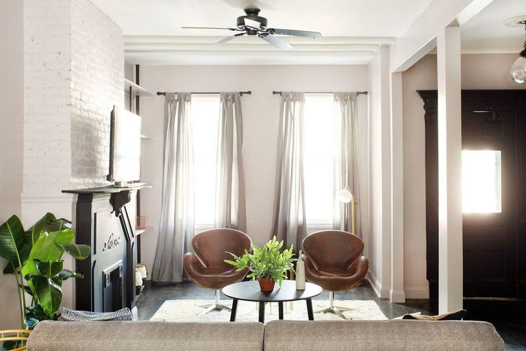 Home Makeover For A Brooklyn House - Living Room Design And Dining ...