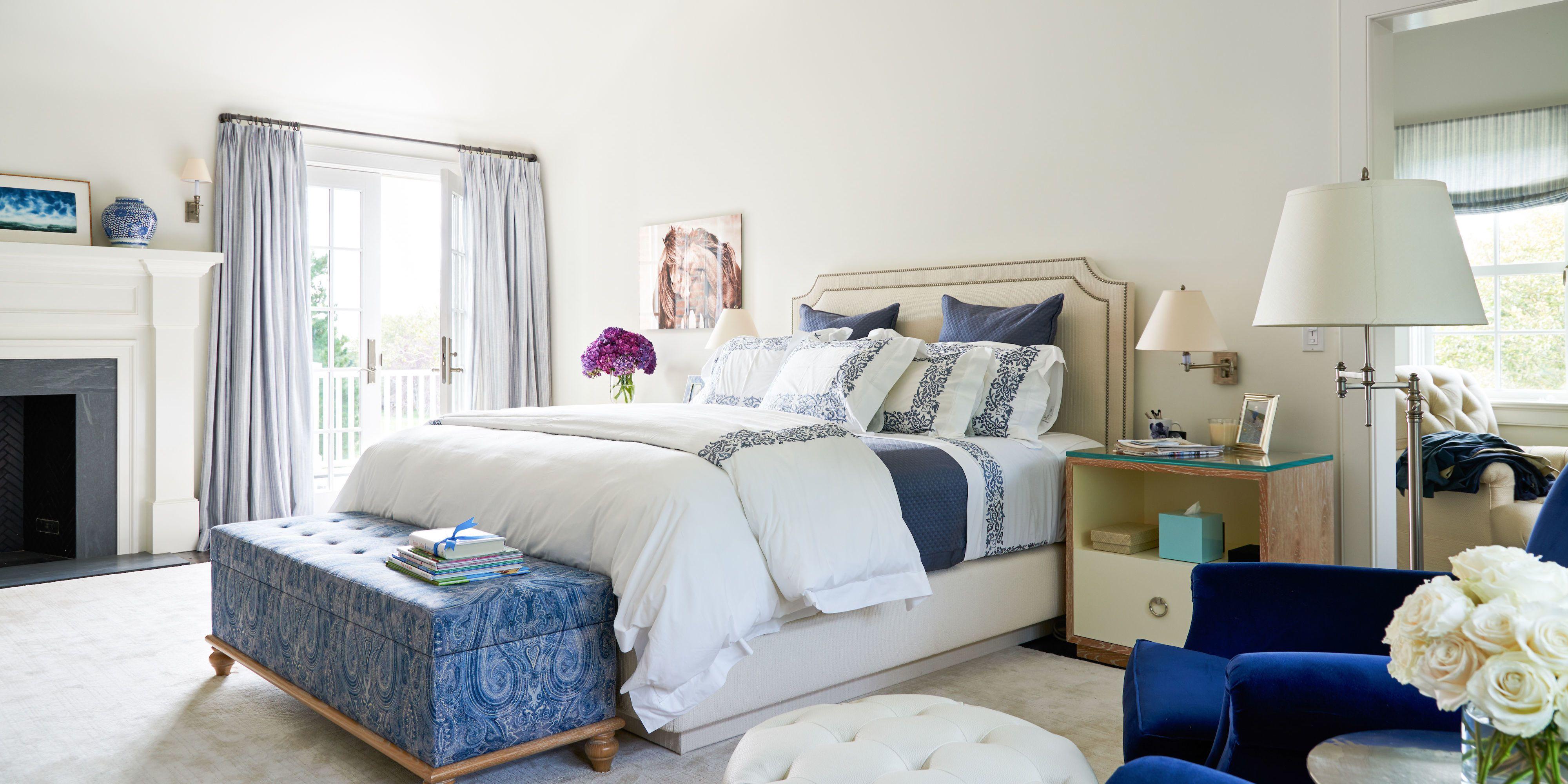 alec baldwin h&tons home master bedroom & 25 Best Bedroom Decor Tips - How To Decorate A Bedroom