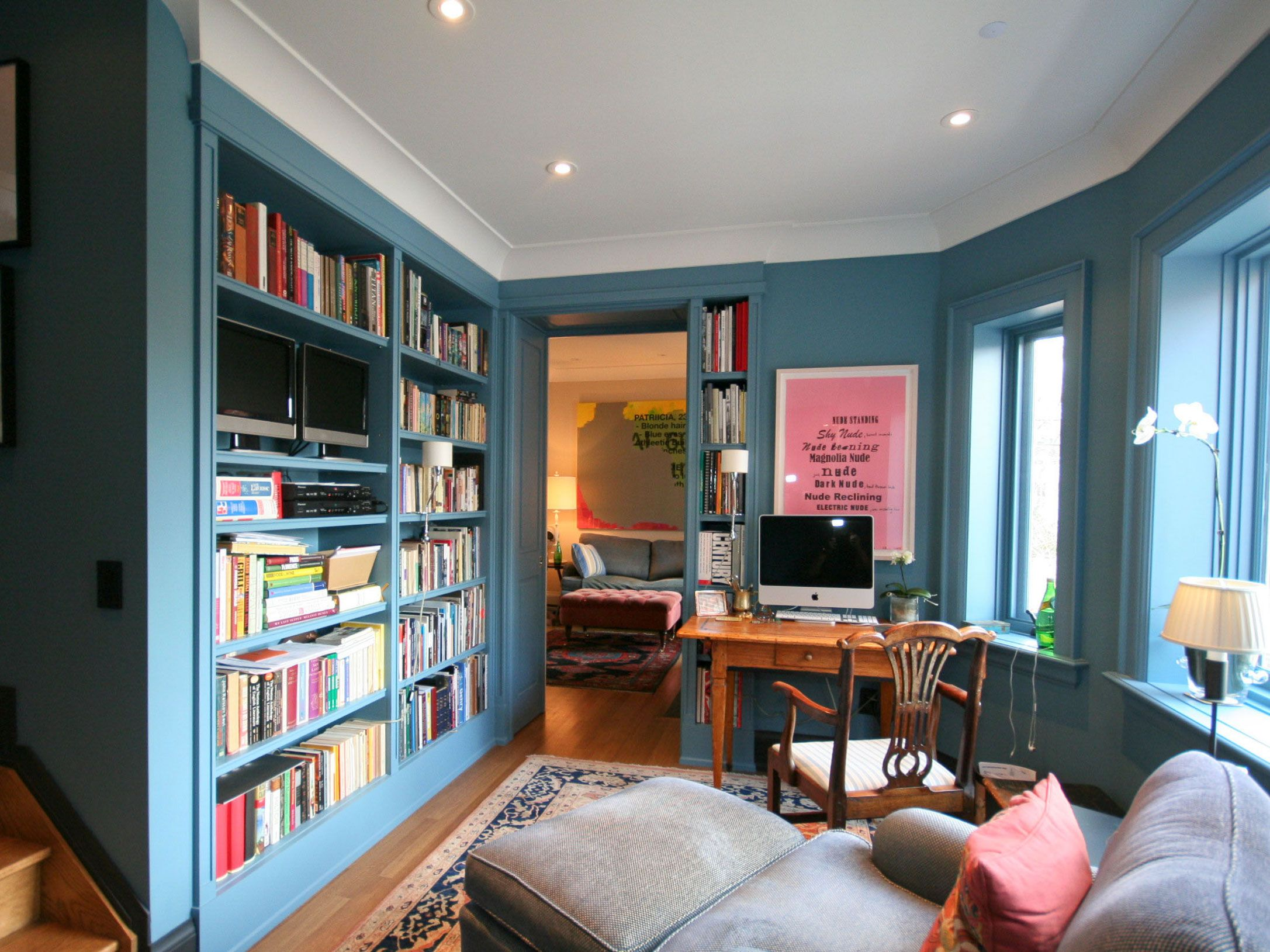 . 53 Stylish Blue Walls   Ideas for Blue Painted Accent Walls