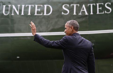 obama leaving