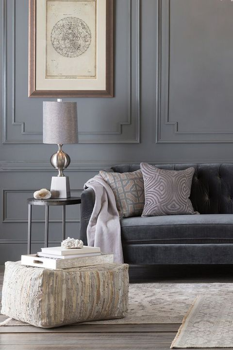 Neutral Gray Paint Decor In All Rooms