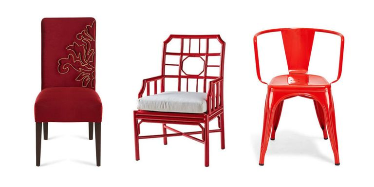 20 Best Red Chair Ideas For Colorful Home Design - Accent Chairs