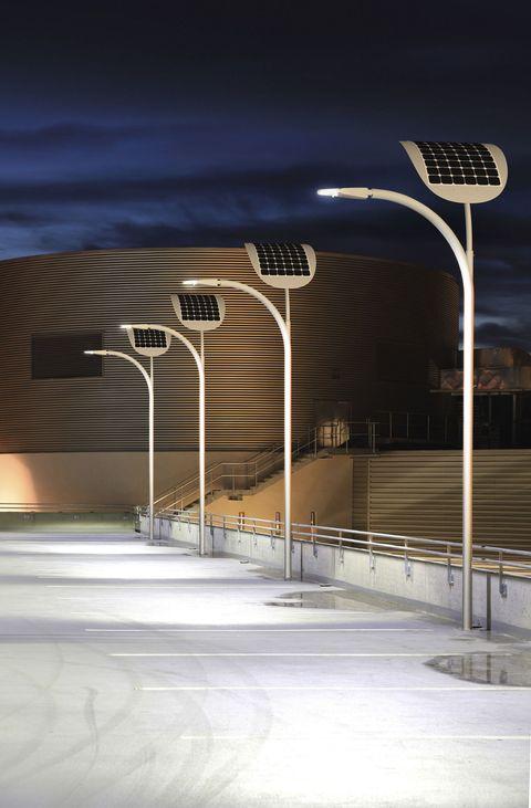 green technology street lights