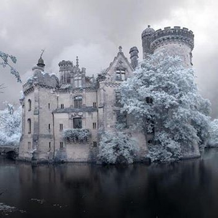 "<p>Particularly, the castle Château de la Mothe-Chandeniers (we spotted it on <a href=""https://www.instagram.com/p/BECLPaxEqQ7/"" target=""_blank"" data-tracking-id=""recirc-text-link"">Instagram</a>!), which was abandoned in <a href=""http://www.ilovehalloween.net/halloween-how-to/2015/12/4/this-castle-was-abandoned-in-1932-after-a-major-fire-the-inside-is-hauntingly-beautiful-video"" target=""_blank"" data-tracking-id=""recirc-text-link"">1932</a> after a fire. Today, it looks like a chateau fit for an ice princess during the dead of winter.</p>"
