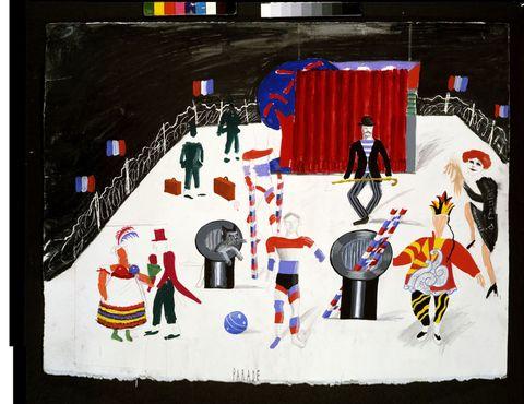 David Hockney Parade