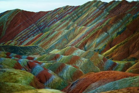 world heritage site danxia landform