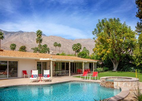 Walt Disney's Former Palm Springs Home Is Filled With Magical Disney Style