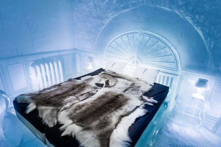 First Permanent Ice Hotel Opens - Icehotel Sweden