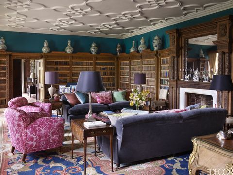 HOUSE TOUR A Historic English Estate That Combines Traditional Elements With Fresh Accents