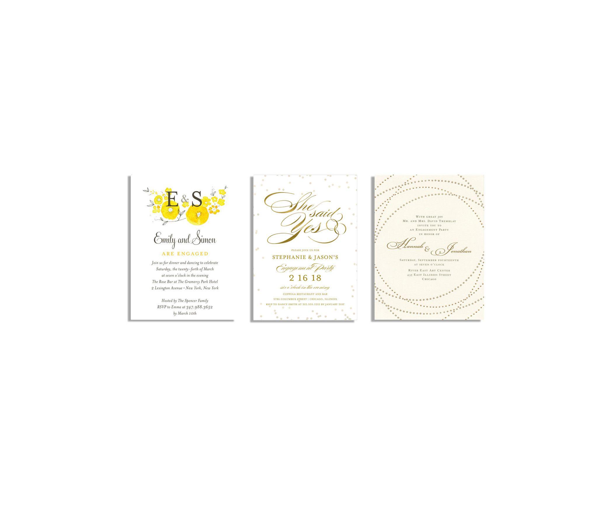 20 Best Engagement Party Invitations - Engagement Announcement ...