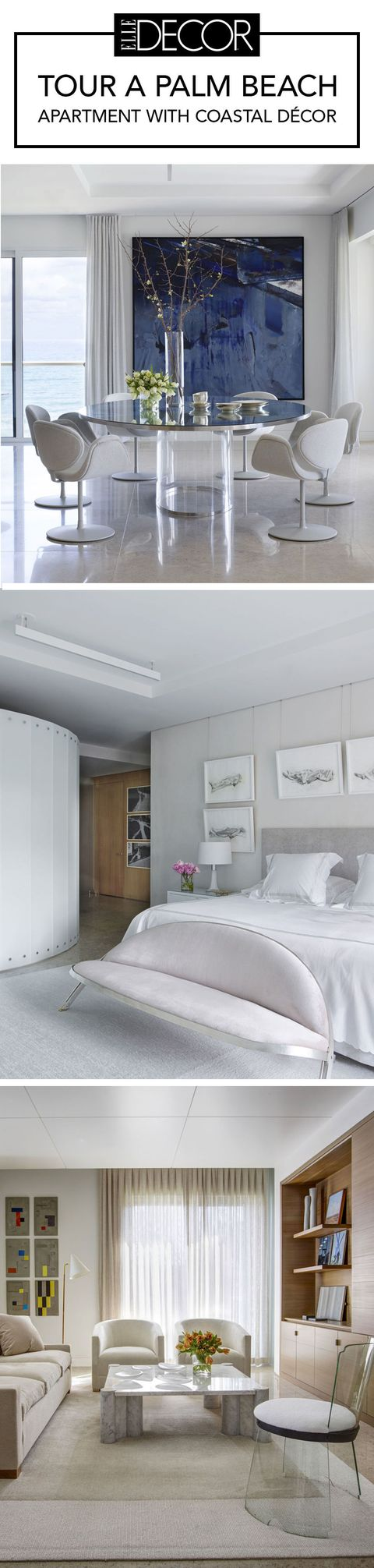 Palm Beach Apartment Coastal Decor - Contemporary Art Home