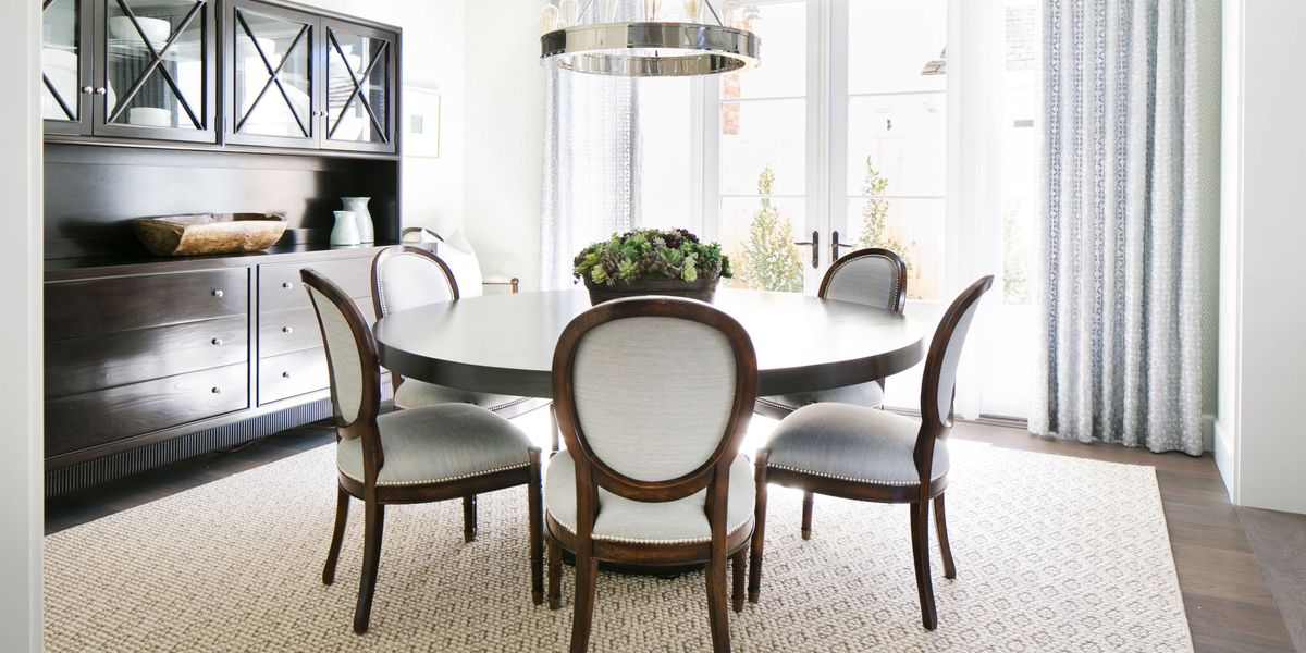 23 Best Round Dining Room Tables, Round Dining Room Table Sets