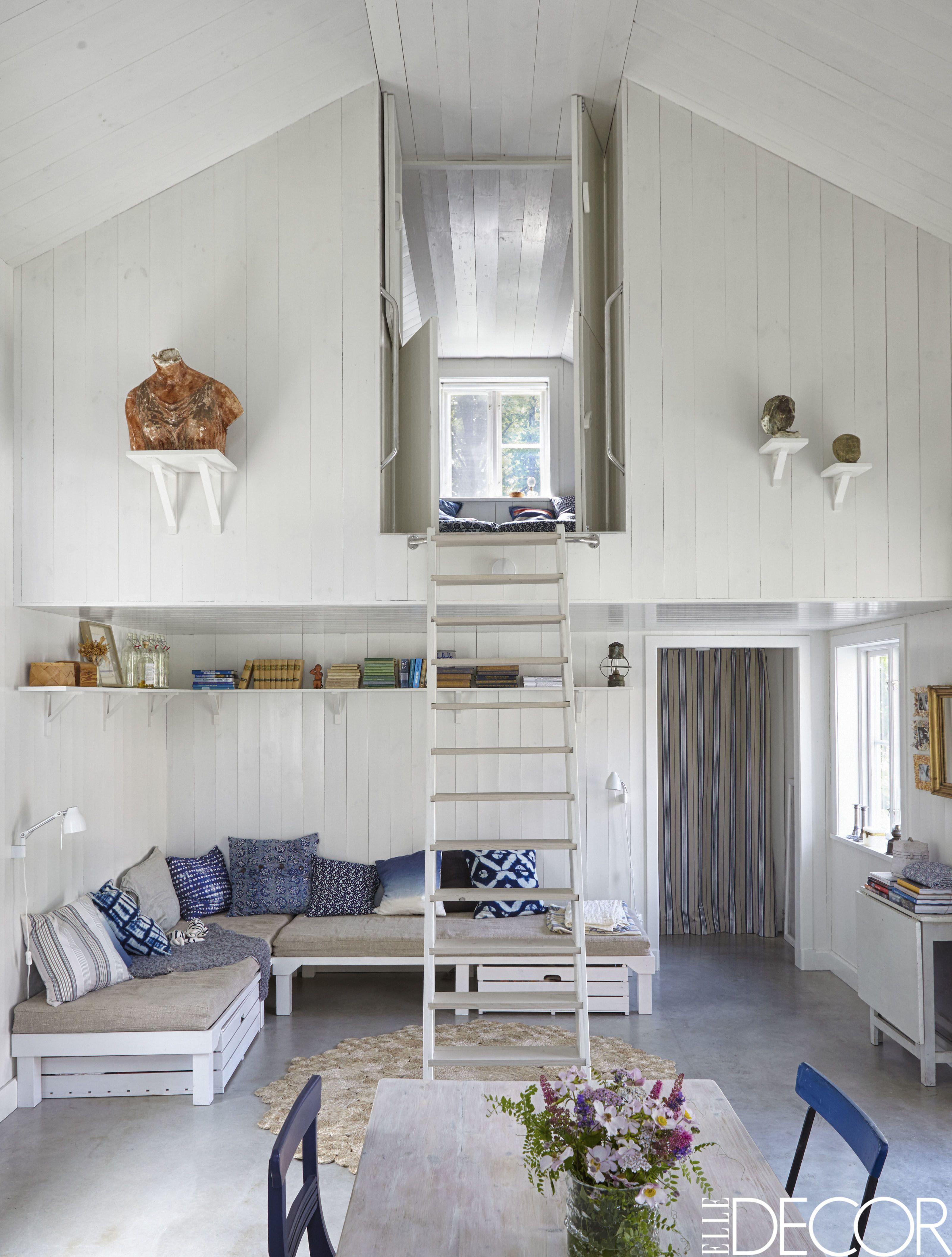 tour a minimalist cottage with scandinavian design summer house in rh elledecor com  swedish cottage style decorating ideas