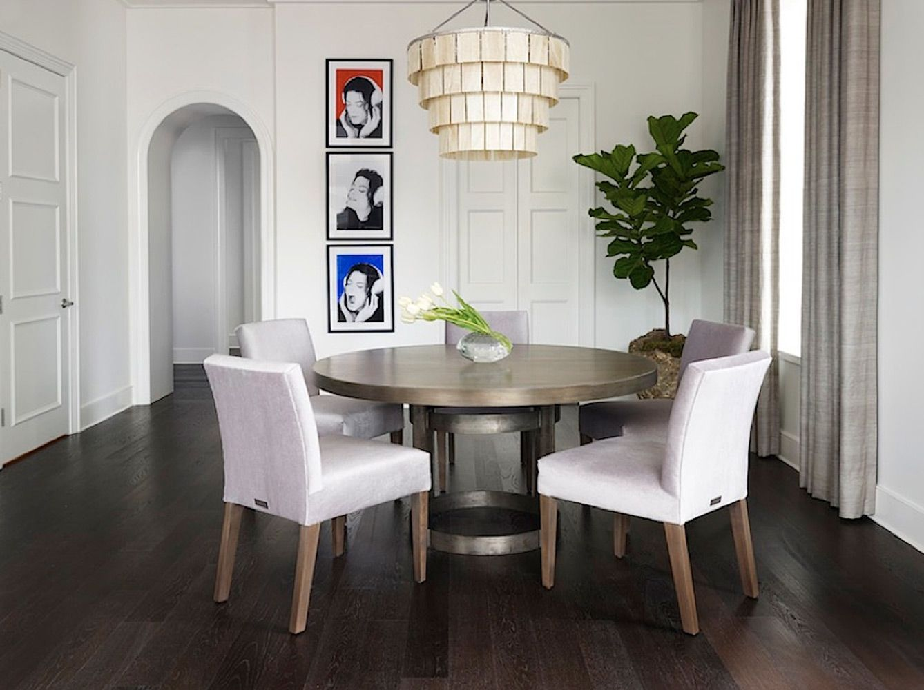 Round Table Dining Room Ideas Part - 49: Elle Decor