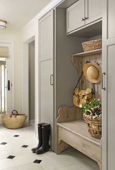 Room, Wall, Floor, Interior design, Flooring, Flowerpot, Interior design, Ceiling, Fixture, Door,