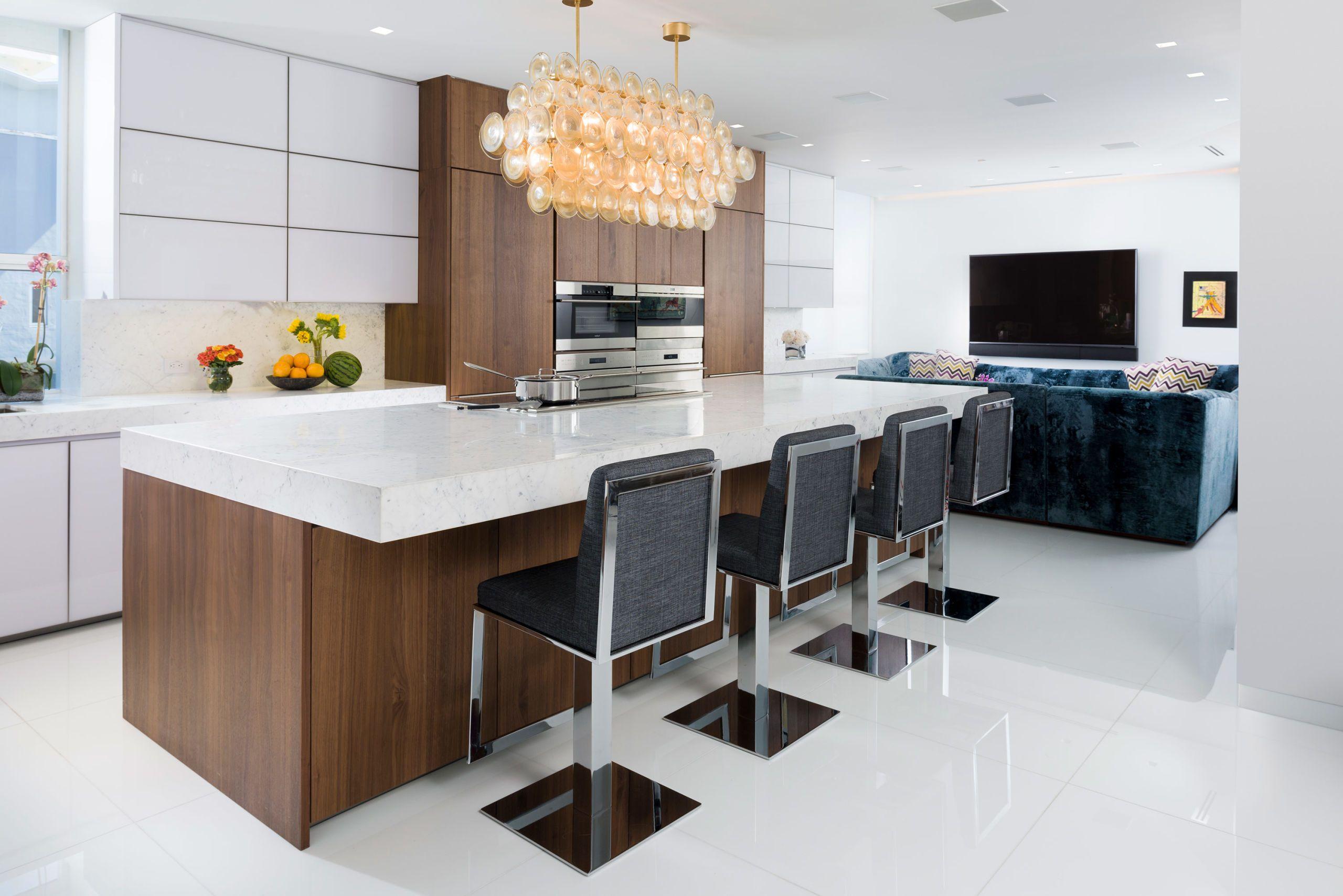 Elegant Marble Countertops