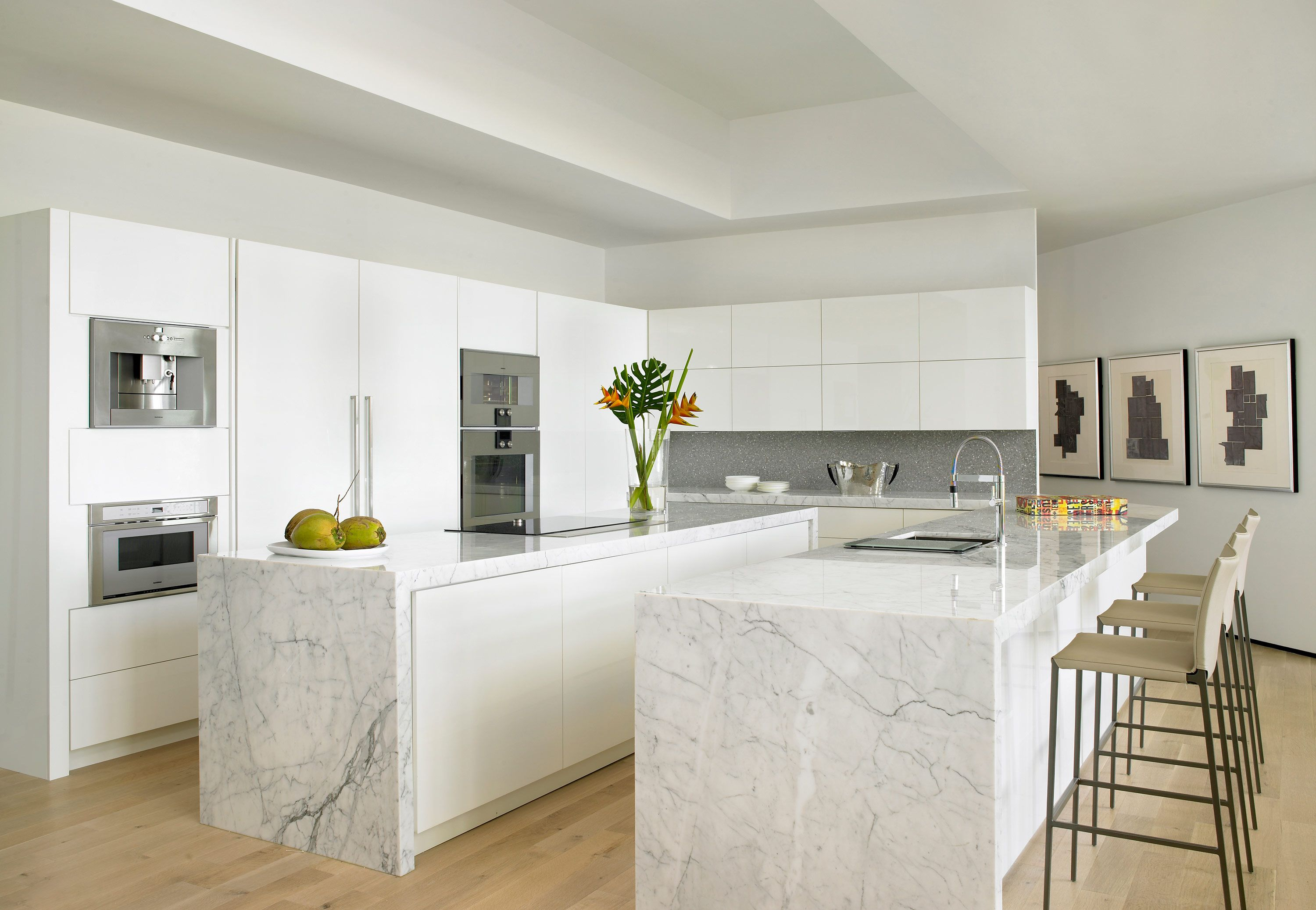 60+ Best Marble Countertops - Modern Kitchen Design