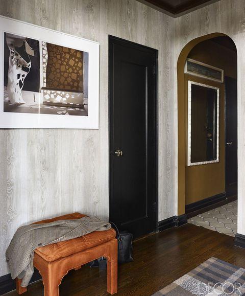 Room, Interior design, Wall, Floor, Flooring, Fixture, Ceiling, Home door, House, Hardwood,