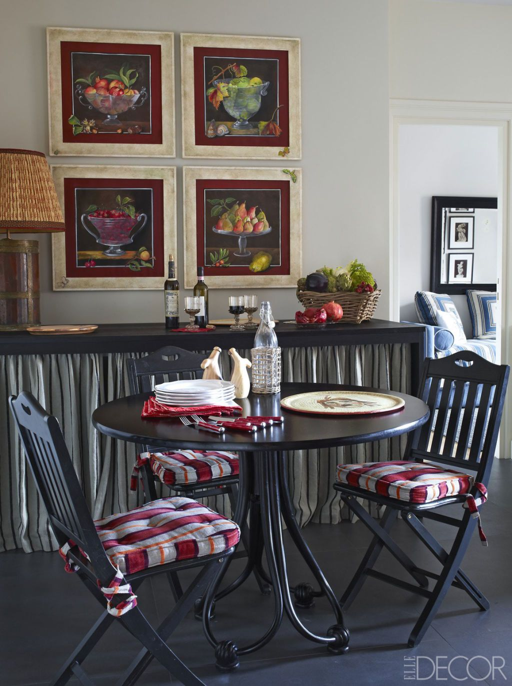HOUSE TOUR: Inside A Richly-Hued, Yet Refined Italian Home