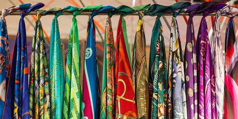 Textile, Clothes hanger, Retail, Market, Visual arts, Collection, Motif, Pattern,