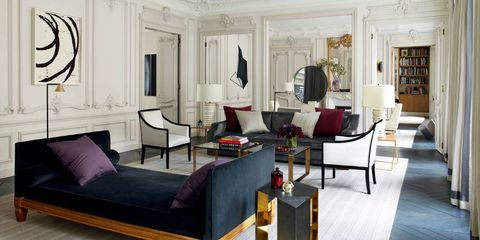 a young french american design firm brings a fresh vision of luxury to a grand 19th century apartment in paris infusing it with light and air