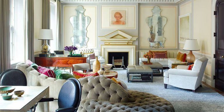 Steven Gambrel Manhattan Home - Manhattan Apartment Design