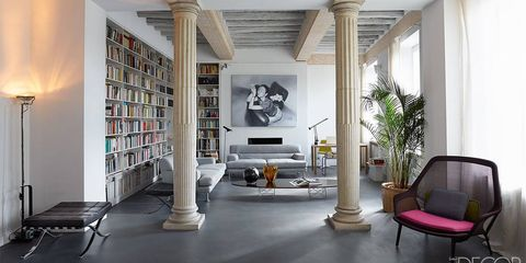 HOUSE TOUR: A Derelict Apartment in Rome Gets A Sophisticated Revival