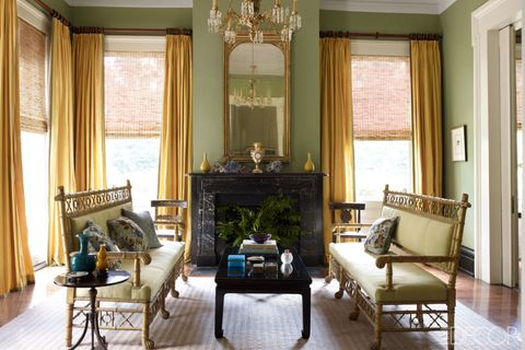 julia reed new orleans living room