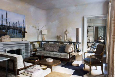 Interior design, Room, Floor, Living room, Wall, Furniture, Home, Table, Flooring, Interior design,