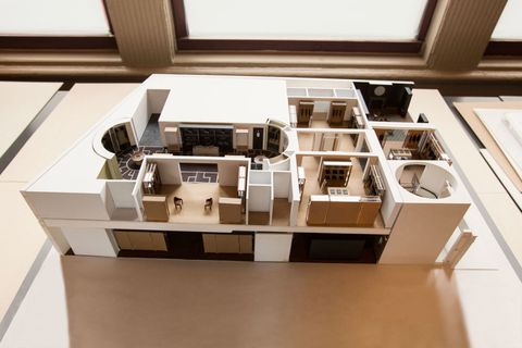 Property, Interior design, Interior design, Design, Daylighting, Floor plan, Plan, Scale model,