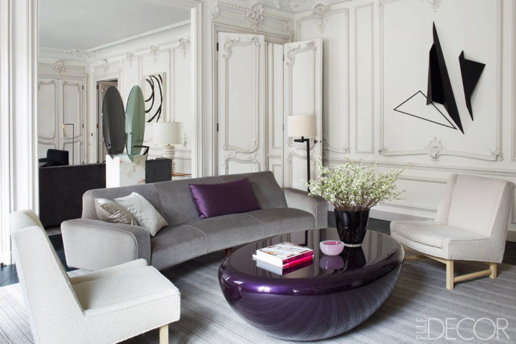 glamorous paris apartment champeau wilde design