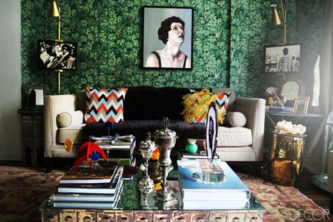 Green, Room, Interior design, Living room, Couch, Wall, Furniture, Home, Interior design, Turquoise,