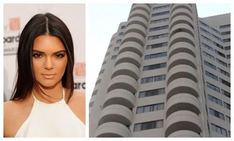 A High Rise Building In Exclusive Westwood Los Angeles Is The Soon To Be Home Of Model And Reality Tv Star Kendall Jenner