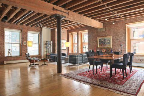 Wood, Floor, Interior design, Flooring, Room, Window, Hardwood, Furniture, Ceiling, Hall,