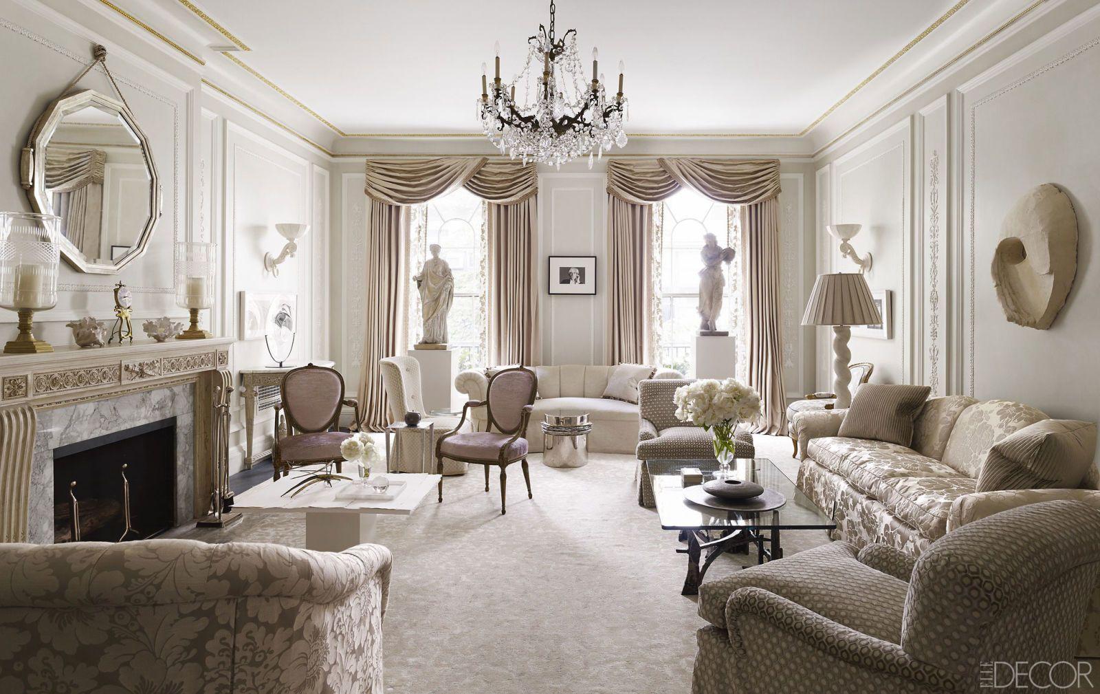 46 white room decorating ideas how to use white wall paint decor rh elledecor com