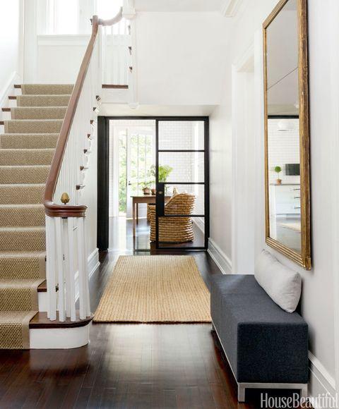 Stairs, Wood, Floor, Interior design, Room, Flooring, Property, Architecture, Wall, Hardwood,