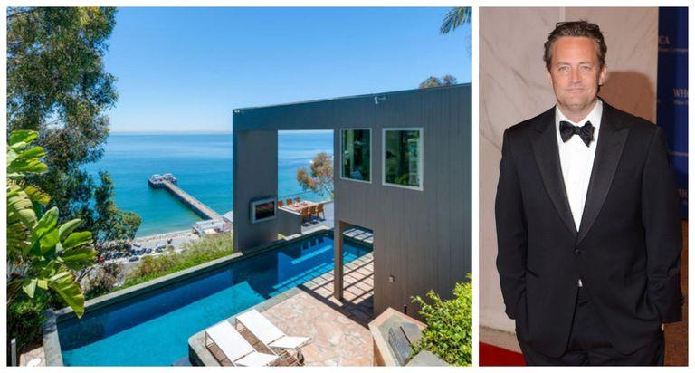 Matthew Perry Lists Oceanside Malibu Home