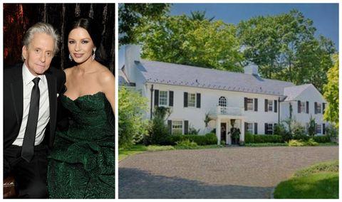 Clothing, Green, Window, Coat, Strapless dress, Property, Dress, Neighbourhood, Photograph, Residential area,