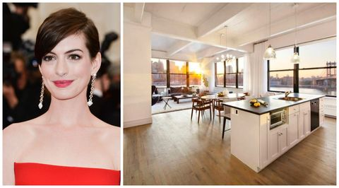 For Sale: Anne Hathaway's Brooklyn Apartment
