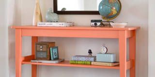 Room, Wood, Product, Property, Wall, Shelving, Table, Furniture, Interior design, Shelf,