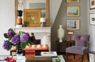 A Paris Apartment Packed With Color