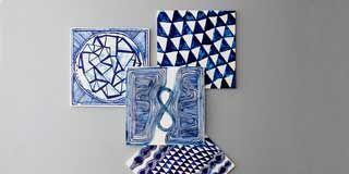 Blue, Product, Pattern, Majorelle blue, Electric blue, Cobalt blue, Azure, Design, Square, Computer hardware,