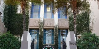 Property, Architecture, Real estate, Leaf, Facade, Shrub, Woody plant, House, Home, Majorelle blue,