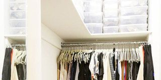 BEFORE & AFTER: An ELLE Editor's Closet Makeover