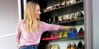 Product, Brown, Shelf, Denim, Shoulder, Jeans, Textile, Shelving, Room, Photograph,