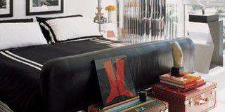 Product, Room, Property, Textile, Interior design, Bed, Wall, Style, Linens, Bedding,