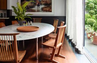 Wood, Floor, Room, Brown, Interior design, Product, Flooring, Hardwood, Property, Flowerpot,