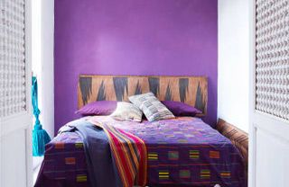 Blue, Bed, Product, Room, Interior design, Property, Bedding, Wall, Bedroom, Textile,