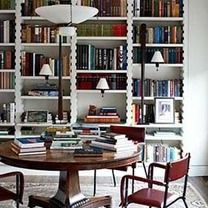 I resolve to treat my bookshelves like a living piece of art